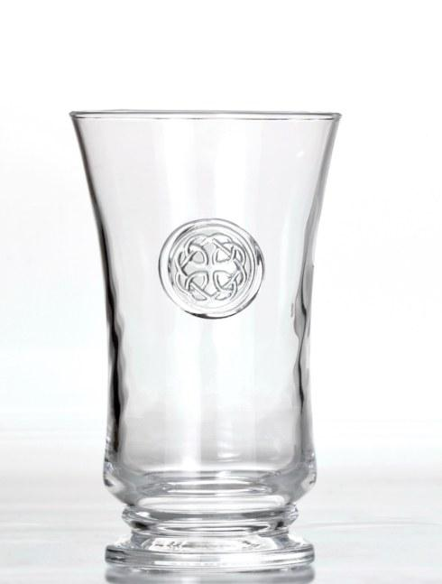 Skyros Designs  Eternity Glass Tumbler - Hand Stamped Medallion  $30.00