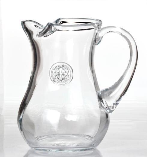 $77.00 Pitcher - Hand Stamped Medallion