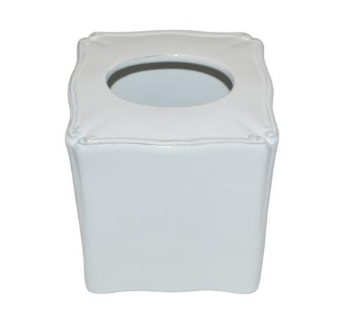 Skyros Designs  Royale Bath - White Tissue Holder $55.00