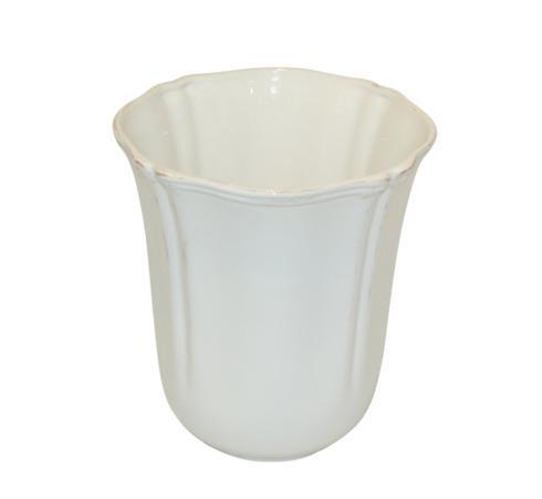 Skyros Designs  Royale Bath - White Wastebasket $66.00