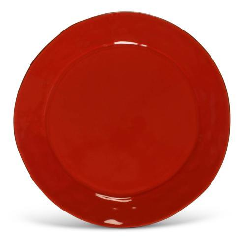 Skyros Designs  Cantaria - Poppy Red Charger $63.00