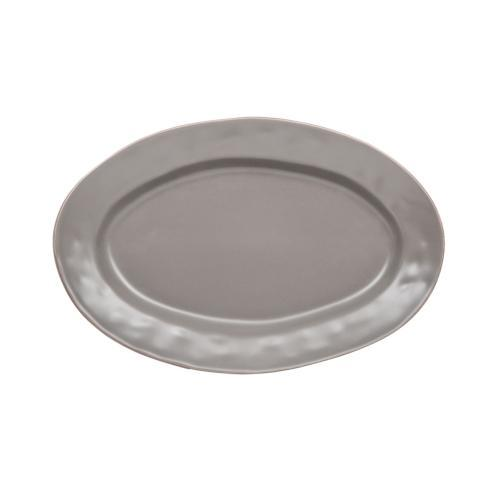 Skyros Designs  Cantaria - Charcoal Small Oval Platter $48.00
