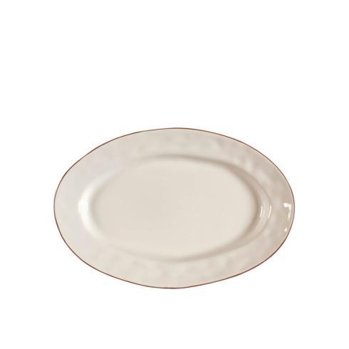 Skyros Designs  Cantaria - Ivory Small Oval Platter $48.00