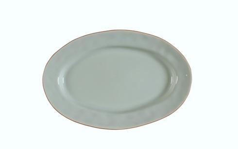 Skyros Designs  Cantaria - Sheer Blue Small Oval Platter $48.00