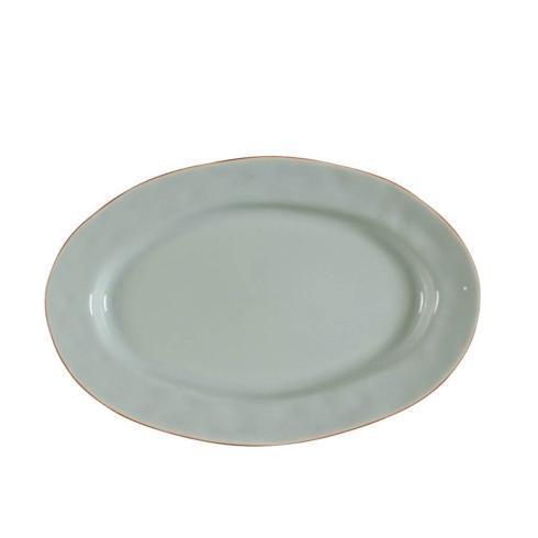 Skyros Designs  Cantaria - Sheer Blue Small Oval Platter $48.00