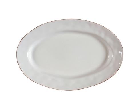 Skyros Designs  Cantaria - White Small Oval Platter $48.00