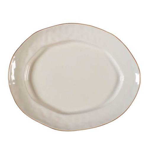Skyros Designs  Cantaria - Ivory Large Oval Platter $79.00
