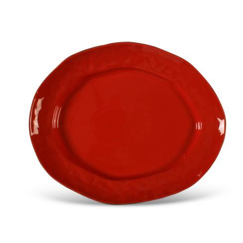 Skyros Designs  Cantaria - Poppy Red Large Oval Platter $79.00