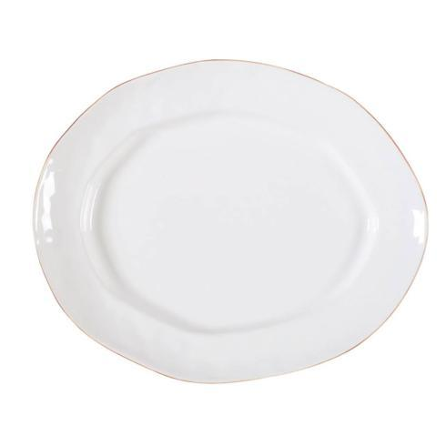 Skyros Designs  Cantaria - White Large Oval Platter