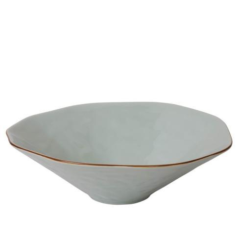 Skyros Designs  Cantaria - Sheer Blue Centerpiece Bowl $101.00