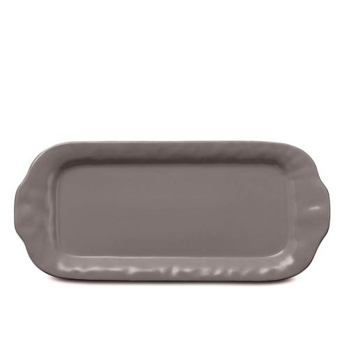 Skyros Designs  Cantaria - Charcoal Large Rectangular Tray  $99.00