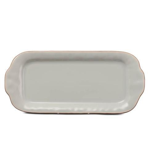 Skyros Designs  Cantaria - Sheer Blue Large Rectangular Tray  $99.00