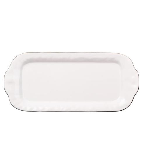 Skyros Designs  Cantaria - White Large Rectangular Tray  $99.00