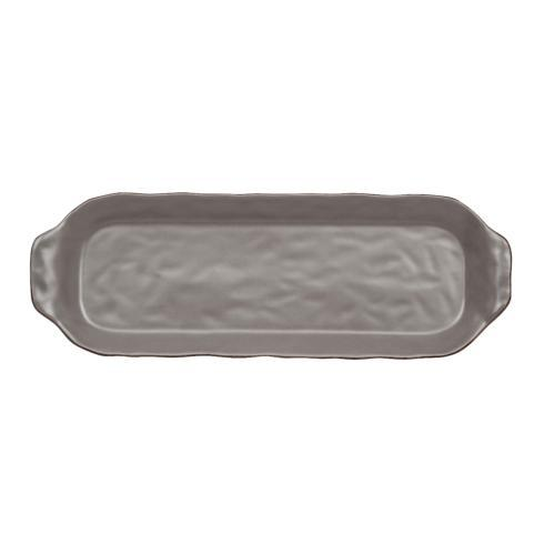 Skyros Designs  Cantaria - Charcoal Rectangular Tray $45.00