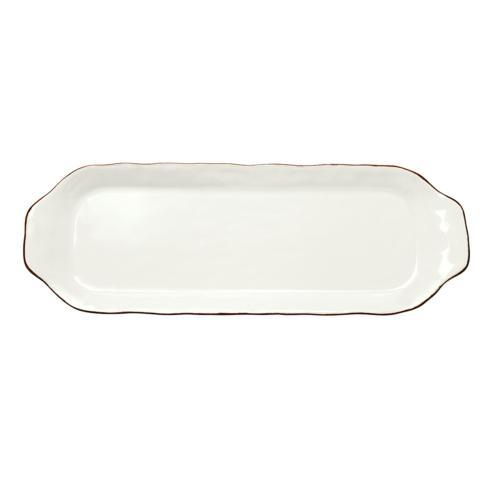 Skyros Designs  Cantaria - Matte White Rectangular Tray $45.00