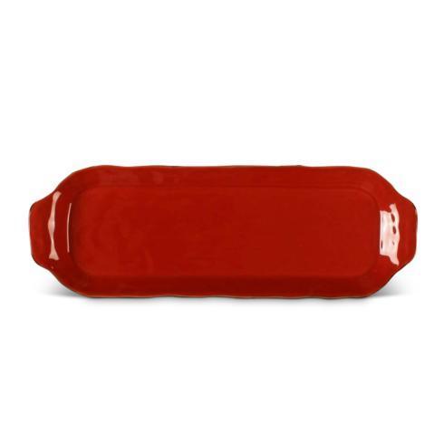 Skyros Designs  Cantaria - Poppy Red Rectangular Tray $44.00