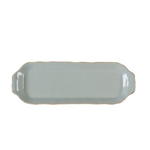 Skyros Designs  Cantaria - Sheer Blue Rectangular Tray $45.00