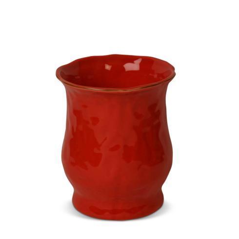 Skyros Designs  Cantaria - Poppy Red Utensil Crock $57.00