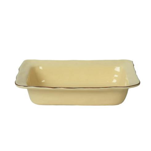 Skyros Designs  Cantaria - Almost Yellow Medium Rectangular Baker $73.00