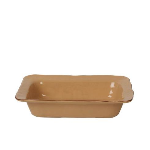 Skyros Designs  Cantaria - Caramel Medium Rectangular Baker $73.00