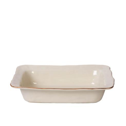 Skyros Designs  Cantaria - Ivory Medium Rectangular Baker $73.00