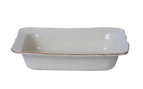 Skyros Designs  Cantaria - White Medium Rectangular Baker $73.00