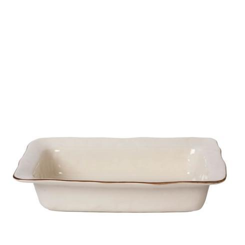 Skyros Designs  Cantaria - Ivory Large Rectangular Baker $95.00