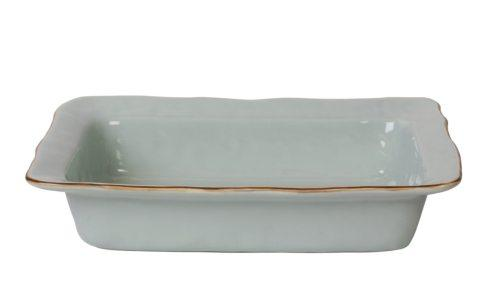 Skyros Designs  Cantaria - Sheer Blue Large Rectangular Baker $95.00