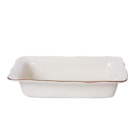 Skyros Designs  Cantaria - White Large Rectangular Baker