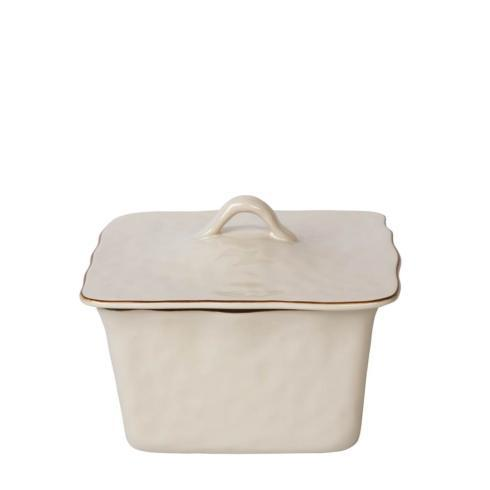 Skyros Designs  Cantaria - Ivory Square Covered Casserole $132.00