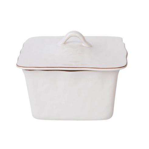 Skyros Designs  Cantaria - White Square Covered Casserole $132.00