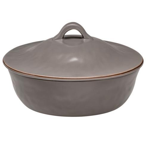 Skyros Designs  Cantaria - Charcoal Round Covered Casserole $132.00