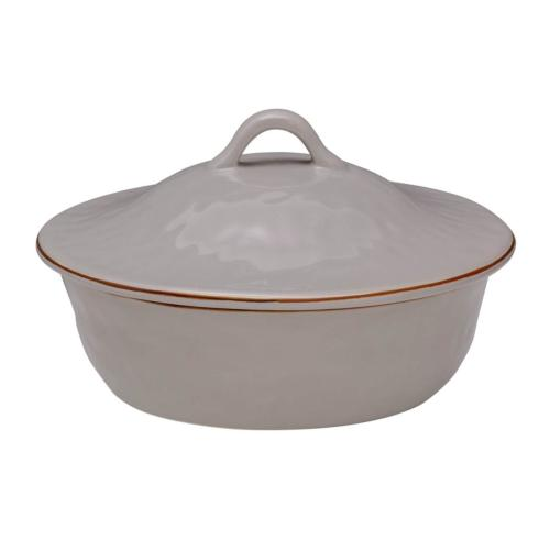Skyros Designs  Cantaria - Greige Round Covered Casserole $132.00