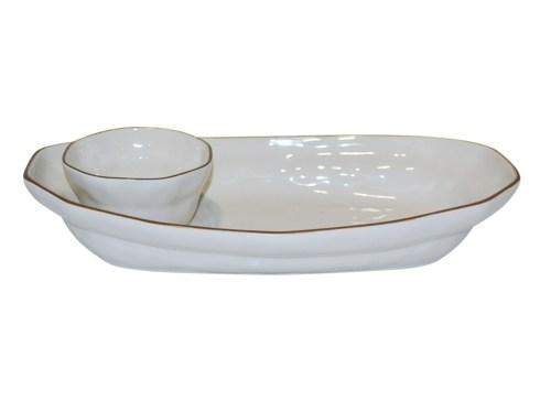Skyros Designs  Cantaria - White Chip & Dip $121.00