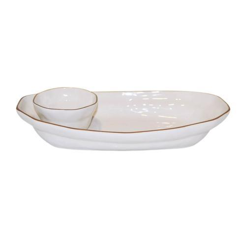 Skyros Designs  Cantaria - White Chip & Dip $121.00