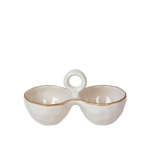 Skyros Designs  Cantaria - Ivory Salt & Pepper Cellar $53.00