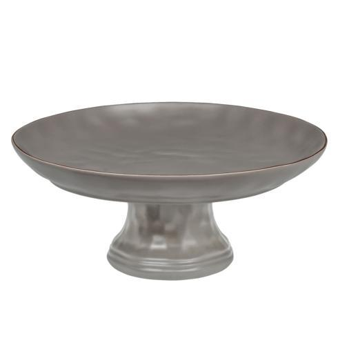Skyros Designs  Cantaria - Charcoal Large Cake/Fruit Stand $136.00