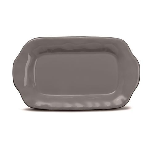 Skyros Designs  Cantaria - Charcoal Butter/Sauce Server Tray  $23.00