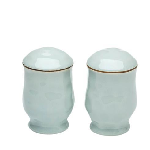 Skyros Designs  Cantaria - Sheer Blue Salt & Pepper Set $60.00