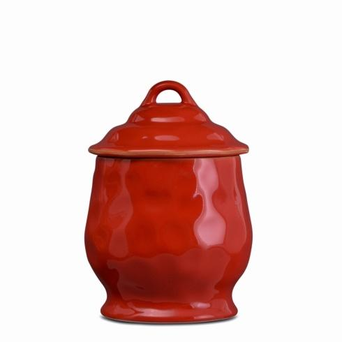 Skyros Designs  Cantaria - Poppy Red Small Canister $83.00