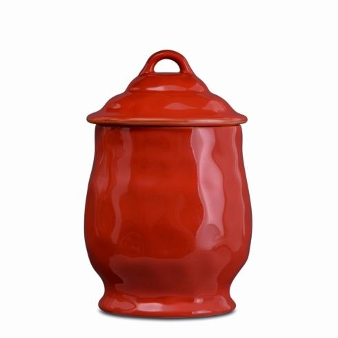 Skyros Designs  Cantaria - Poppy Red Medium Canister $123.00