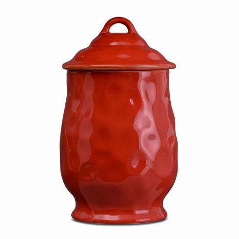 Skyros Designs  Cantaria - Poppy Red Large Canister $147.00