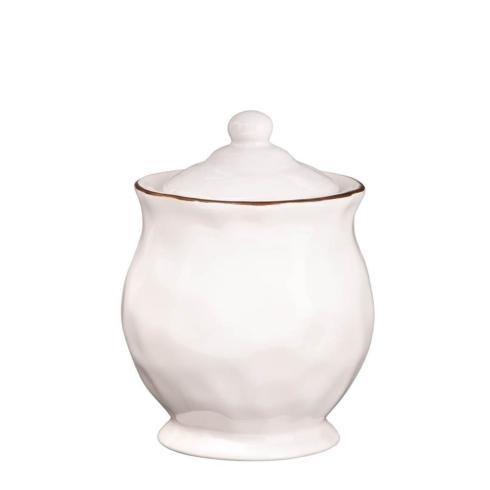 Skyros Designs  Cantaria - White Covered Sugar $46.00