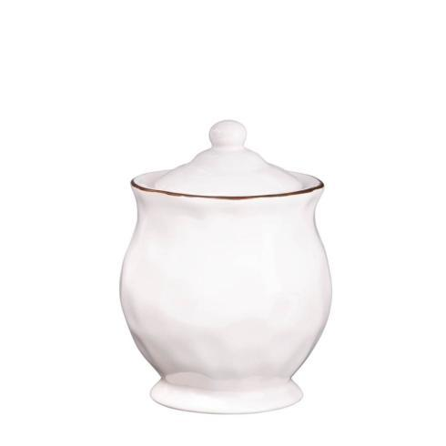 Skyros Designs  Cantaria - White Covered Sugar $46.00
