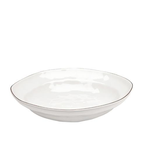 Skyros Designs  Cantaria - White Large Pasta Bowl $143.00