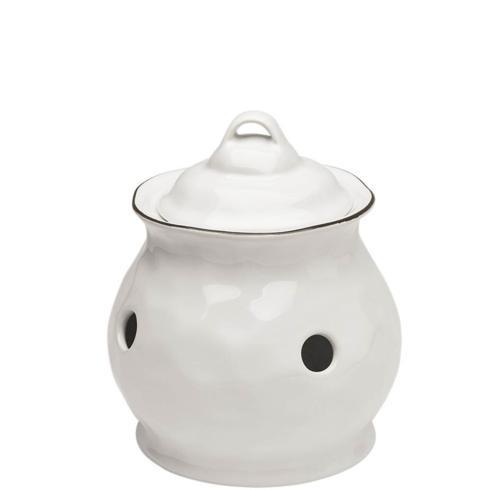 Skyros Designs  Cantaria - White Garlic Keeper $77.00