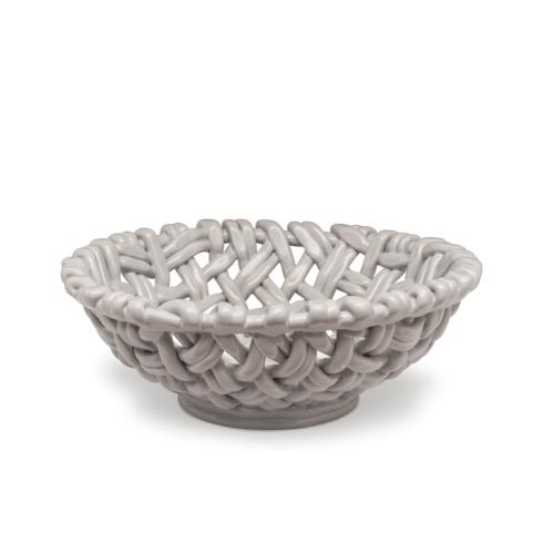 $198.00 Round Basket Greige