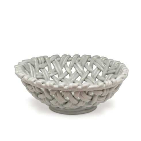 $198.00 Round Basket Sheer Blue