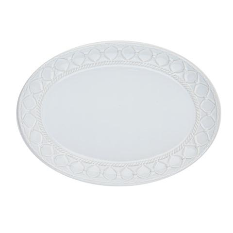 Skyros Designs  Alegria - Simply White Small Oval Platter $55.00