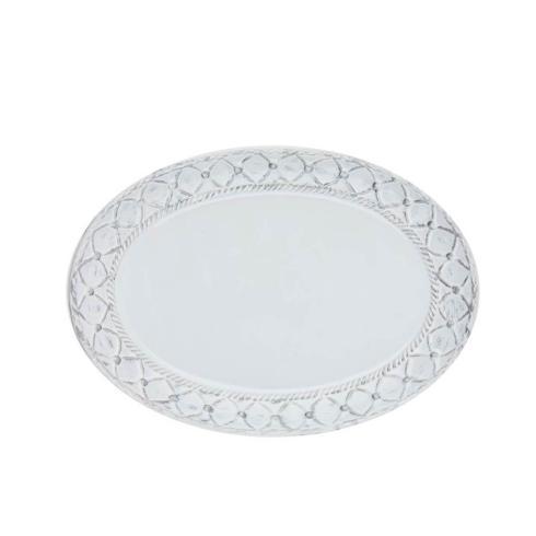 Skyros Designs  Alegria - Silver Small Oval Platter $53.00